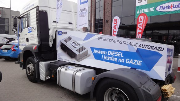 ugradnja gasa u kamione